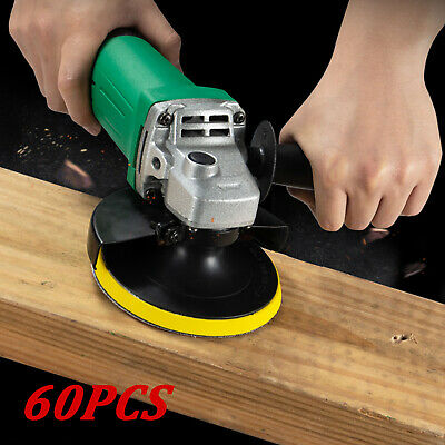 £6.59 • Buy 60 PCS Sanding Discs Pads For Drill Grinder Rotary Tools + Backing Pad 2inch