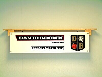 £14.90 • Buy David Brown Tractor Selectamatic 990 Banner Workshop Agriculture Show Display