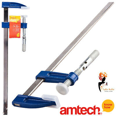 F Clamp 50 X 300 Mm  Brick Layer Profile Metal Handle Wood Working Amtech D1910 • 7.35£