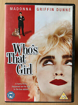 Who's That Girl DVD 1987 Madonna Caper Comedy Musical Classic Rare • 14.50£