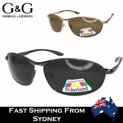 AU17.95 • Buy Hot Mens Polarized Sunglasses Classic Driving Metal Frame