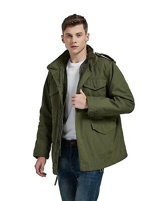 $79 • Buy Olive Drab Military M-65 Field Coat Army M65 Tactical Uniform Jacket M1965