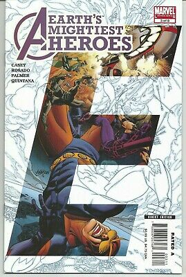 Avengers (Earths Mightiest Heroes) #3 : February 2007 : Marvel Comics • 6.95£