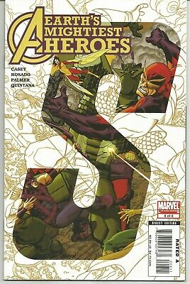 Avengers (Earths Mightiest Heroes) #8 : May 2007 : Marvel Comics • 6.95£