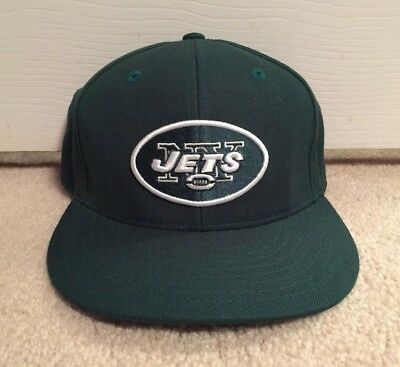 04075416f44 New York Jets Reebok Fitted Hat 7 1 2 Nfl Team Apparel Vintage Cap Ny