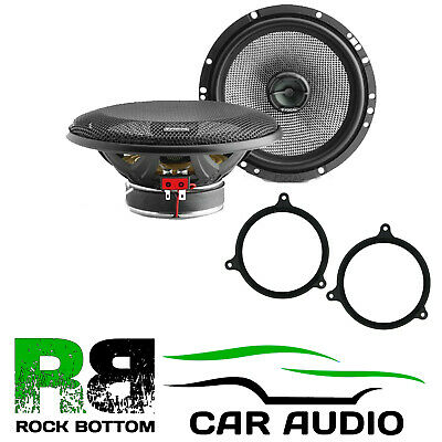 For Toyota Avensis 2003-09 Focal Access 240 Watts Coaxial Rear Door Car Speakers • 107.99£