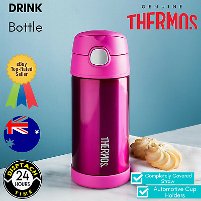 AU21.69 • Buy Thermos Funtainer Vacuum Insulated Beverage Bottle Pink Toddler Girls 355ml