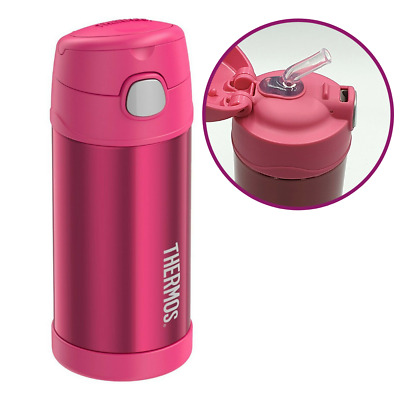 AU21.69 • Buy Thermos Funtainer Vacuum Insulated Hydration Beverage Bottle Pink Kids 355ml