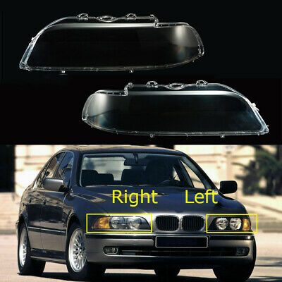 $80.81 • Buy Replacement Headlight Cover Lens Housing Durable For BMW E39 528i 96 97 98 99 00