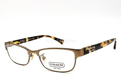 5704c45c73 COACH HC 5033 9002 Alyson Eyeglasses Frames Glasses Gold ~ Tortoise ~ 51mm  • 38.00