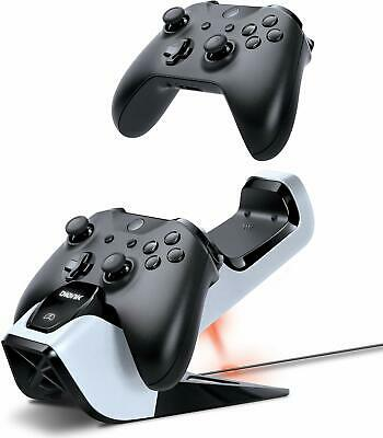 Bionik Power Stand Controllers Charger W/ 2 Rechargeable Batteries For Xbox One • 34.99$
