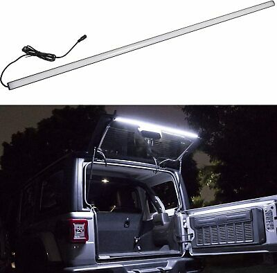 AU80.99 • Buy For Jeep Wrangler 2007-20 JK JL LED Tailgate Rear Glass Liftgate Dome Light Bar