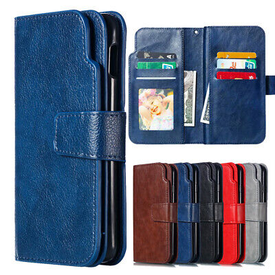 $ CDN6.37 • Buy For Samsung Galaxy S10 Plus/Lite A7 A8 2018 Flip Leather Wallet Case Cover Stand