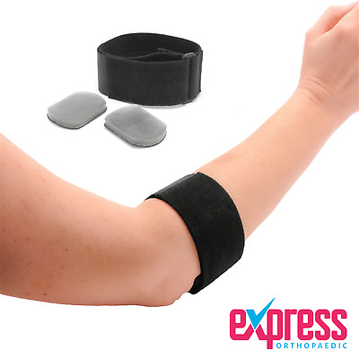 Tennis Elbow Support, Golfer's Elbow Clasp, Forearm Support Compression Strap • 4.47£