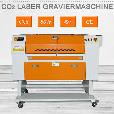80W CO2 Laser Engraving Cutting Machine 700x500mm Laser Cutter USB Wooding • 1,723.97£