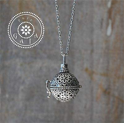AU15 • Buy  Essential Oil Diffuser Necklace  :) Vintage Aromatherapy Pendant Lava Rock XoXO