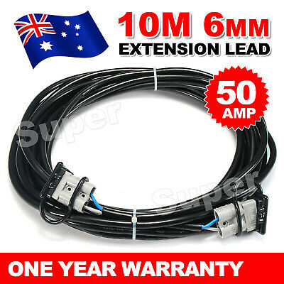 AU27.95 • Buy Ready To Use10m 50Amp Anderson Plug Extension Lead 6mm TwinCore Automotive Cable