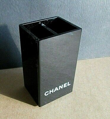 Chanel Perfume Blotter Card Make Up Brush Pencil Pen Lucite Holder Rare Display • 54.27£