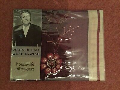 BN Jeff Banks Housewife Pillowcase RRP £10 Ports Of Call' Madeleine Berry • 6.99£