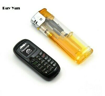 Small Micro GSM Mobile Phone Bluetooth Mini V2 Quad-band Cellphone Voice Changer • 21.99£