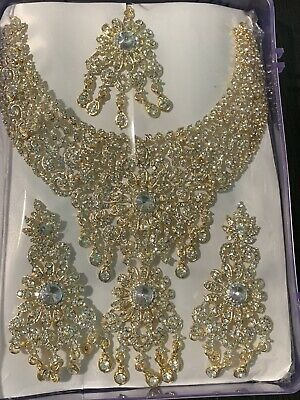 $35 • Buy Bollywood Designer Indian Wedding Bridal Party Wear Fashion Jewelry Necklace Set