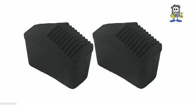 Pack Of 2 40mm X 20mm Replacement Ladder / Step Ladder Feet / Rubber • 4.99£