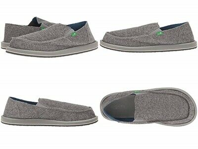 Sanuk  Vagabond Mesh Loafer Grey Sidewalk Surfer Size 10 Us • 30.93£