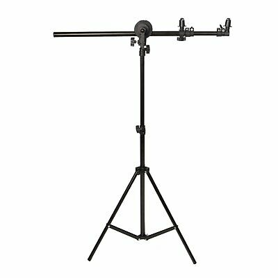 £41.60 • Buy Photo Studio 60-175cm Reflector Holder Boom Arm + 2m Collapsible Light Stand