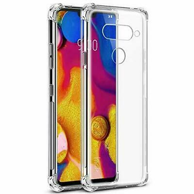 AU6.99 • Buy For LG V50 V40 ThinQ V30 Plus Clear Case Ultra Transparent Soft Slim Skin Cover