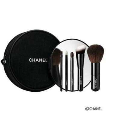 CHANEL Les Mini De Chanel Set Makeup Brushes Holiday Novelty Authentic 2016 Coco • 143.11£