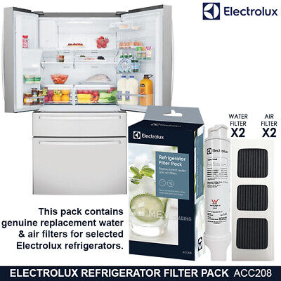 AU179.95 • Buy WHE6874SA Fridge Water Filter And Air Filter Set ACC208