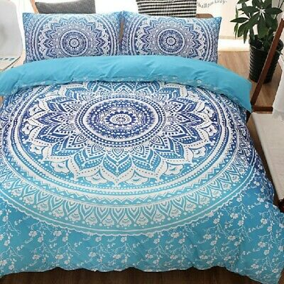 AU29 • Buy Single/KS/Double/Queen/King/Super K Soft Quilt/Duvet Cover Set-Bohemian