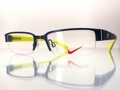 865bd6c8a4 Nike Women s Rx Prescription Eye Glasses Frames 5568 Blue Yellow - 47-16-