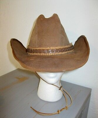 Stetson Billy The Kid Cowboy Hat Size 7 1 8 Vintage Felted • 21.00  9a0b8f67dccb