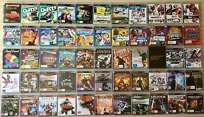 AU19.95 • Buy  Ps3 Sony Playstation 3 Games ~ *choose From The Drop Down Menu*