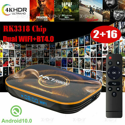 AU42.29 • Buy TANIX H2 Quad Core Android 9.0 Smart TV Box 2+16G HDMI WIFI 4K 3D Media Streamer