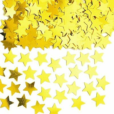 £3.59 • Buy 3 Packs Gold Star Table Confetti Wedding Engagement Birthday Party Decorations