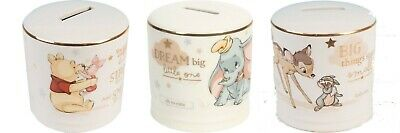 Disney Magical Beginnings Ceramic Money Bank • 10.99£