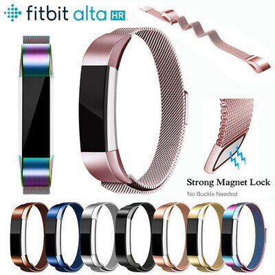 AU12.99 • Buy  Metal Band For Fitbit Alta / HR Bracelet Watch Bangle Stainless Steel Strap AU