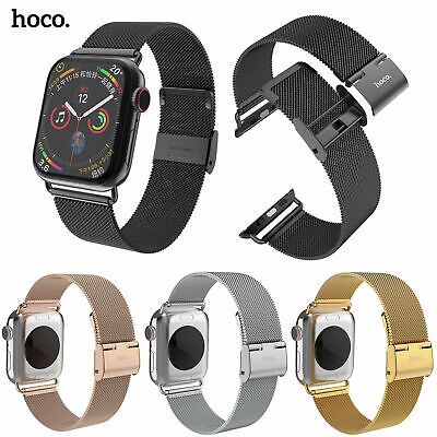 AU36.24 • Buy HOCO Milanese Stainless Steel Band For Apple Watch Series 6 5 4 3 44/40/42/38mm