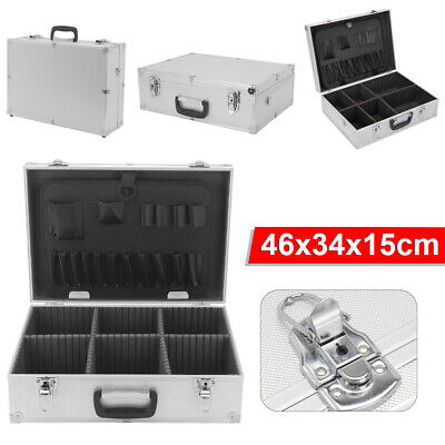 £21.99 • Buy Aluminium Flight Case Storage Toolbox Portable Joiners Electricians Tool Boxes