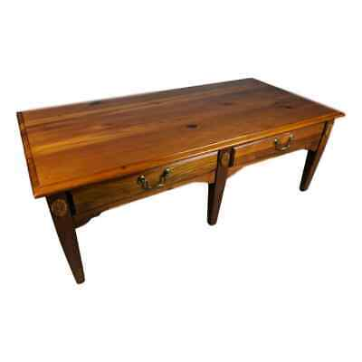 $187.50 • Buy NICE Broyhill Rustic Country Knotty Pine Coffee Table W/ 2 Drawers
