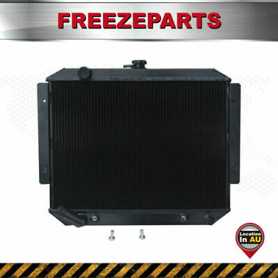 AU208 • Buy Aluminum Radiator For Mitsubishi Pajero NH NJ NL NK 3.0 V6 Petrol AT 91-97 BLACK