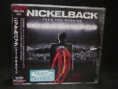 NICKELBACK Feed The Machine JAPAN CD Canada Hard/Alternative/Grunge Rock ! • 18.81£