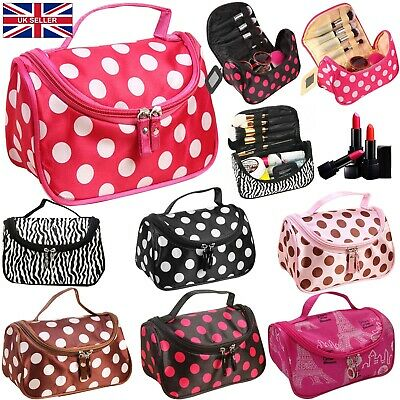 £3.80 • Buy Travel Organizer Accessory Toiletry Zebra Cosmetic Make Up Holder Case Bag Pouch