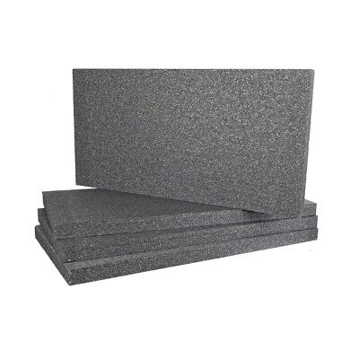 £53.50 • Buy EPS, Grey Polystyrene Sheets 50mm, Pack Of 12 Use For External Wall Insulation