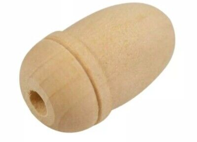 £2.19 • Buy Small Acorn Solid Wooden Pull Cord Weight Light Switch Shower Toilet Bathroom