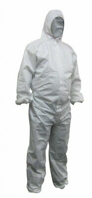 £10.70 • Buy Maxisafe Disposable Spray Paint Suit Protective Overall Coverall White