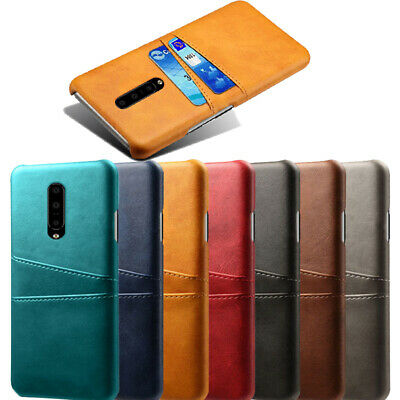 AU6.13 • Buy For OnePlus 8 7T Pro 6T 6 5T 5 Leather+PC Card Slot Wallet Hard Back Case Cover