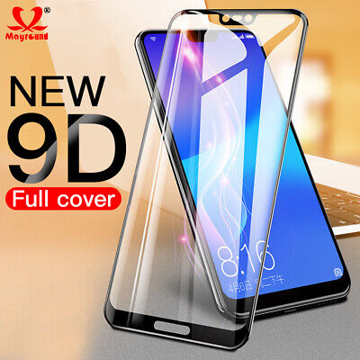 AU3.69 • Buy 9D Screen Protector Tempered Glass Film For Nokia 2.1 3.1 5.1 6.1 Plus 8 6 2018